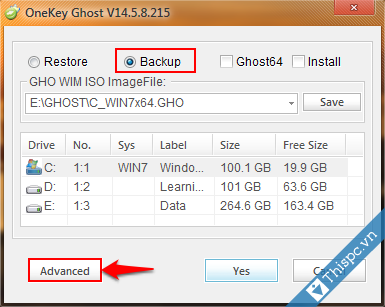 Huong dan backup file ghost