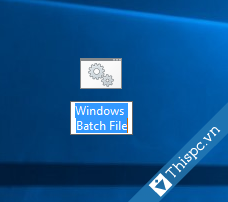 Windows batch file